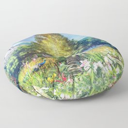 The Heart of The Forest Floor Pillow