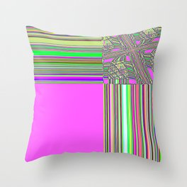 Re-Created Southern Cross XXII by Robert S. Lee Throw Pillow