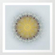 Mandala Love Art Print