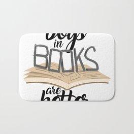 Boys in Books are Better Bath Mat