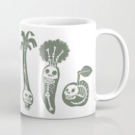 X-rays vegetables (white background) Coffee Mug