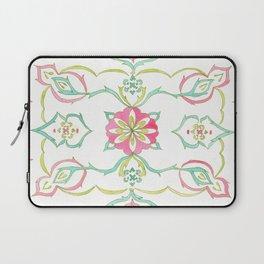 #98. SELENE (Symmetrical Floral Design) Laptop Sleeve