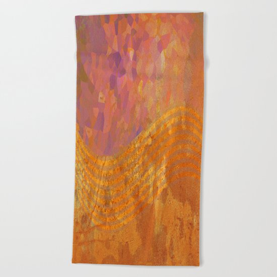 Light Wave Beach Towel