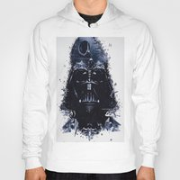 darth vader Hoodies featuring Darth Vader by qualitypunk