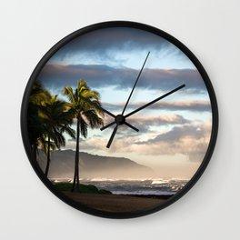 North Shore Hawaii Wall Clock