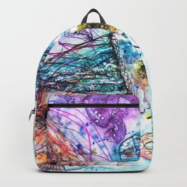 I Lost my Heart to the Ocean Backpack