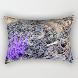Knitted Coral Fungus Rectangular Pillow