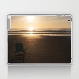 Beach Chair at Sunrise Laptop & iPad Skin