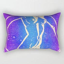 Neon Nude Rectangular Pillow
