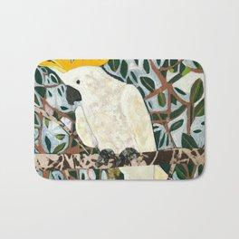 Sulphur-crested Cockatoo Bath Mat