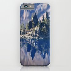 Ghost Ship, Creepy Crater Lake Slim Case iPhone 6s