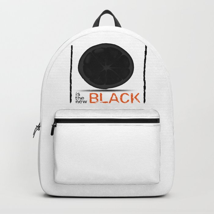 Orange / Black Backpack