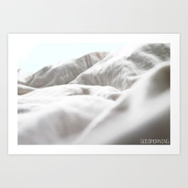 Goodmorning Mint Art Print