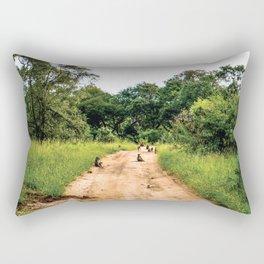 Jungle Gangsters Rectangular Pillow