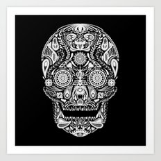 Mexican Halloween Art Print