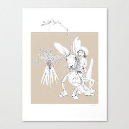 Weird & Wonderful: Harehopper Canvas Print