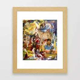 to Be Heard Framed Art Print