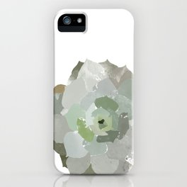 Watercolor Succulent iPhone Case