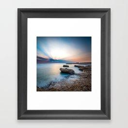 Good Morning Red Sea Framed Art Print