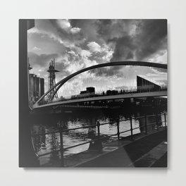 Salford Sky. Metal Print