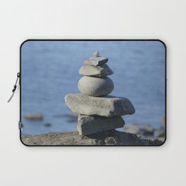 Stone on stone,  tranquility Laptop Sleeve