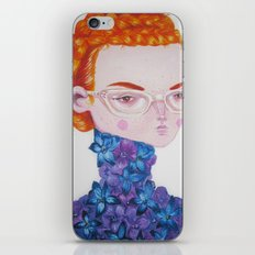 Recato/Demureness iPhone & iPod Skin