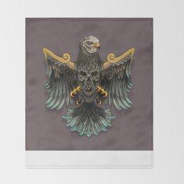 War bird Throw Blanket