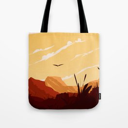 West Texas Landscape Tote Bag