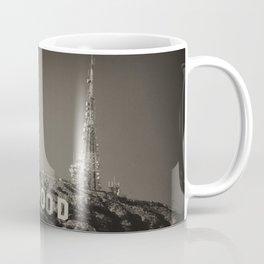 Vintage Hollywood sign Coffee Mug