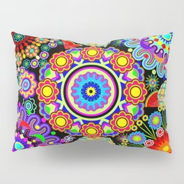 Mandalas & Exotic Fruits Pattern Pillow Sham