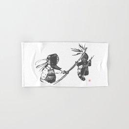 Naginata Sumi-E by Takemi Hand & Bath Towel