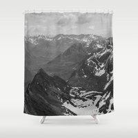film Shower Curtains featuring Archangel Valley by Kevin Russ