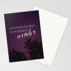 presence of wonder. Stationery Cards