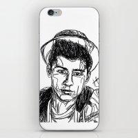 zayn malik iPhone & iPod Skins featuring Zayn Malik by Hollie B