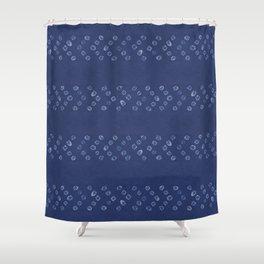 Shibori Arrow Shower Curtain