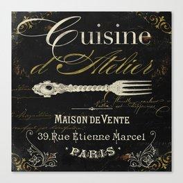 La Cuisine I Canvas Print
