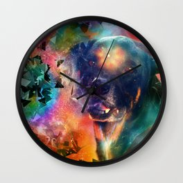 Canine Consciousness Wall Clock