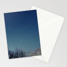 night/stars Stationery Cards
