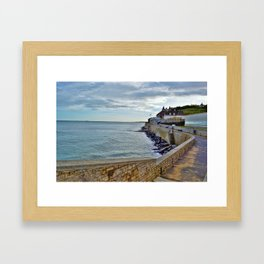 Normandy Beach Framed Art Print