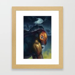 A Child of Dagon Framed Art Print