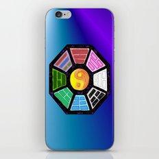 Painted Bagua iPhone & iPod Skin