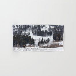 Specimen Ridge - Yellowstone National Park Hand & Bath Towel