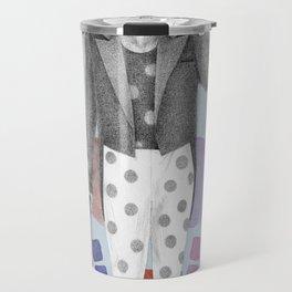 clown and lots of dots Travel Mug