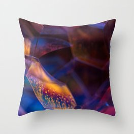 Nightfall Bubbles Throw Pillow