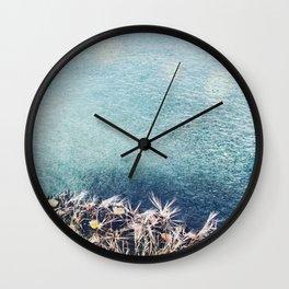 Coastal Spring Wall Clock