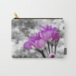 Fuchsia fLOWERS Pop Of Color Carry-All Pouch