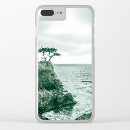 California Pacific 0569 Coast Road Trip Clear iPhone Case