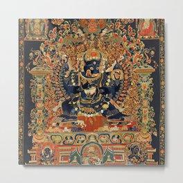 Tantric Buddhist Vajrabhairava Deity 2 Metal Print