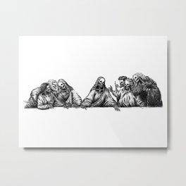 The Last Supper Metal Print