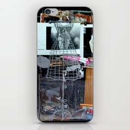 Paris Window iPhone Skin